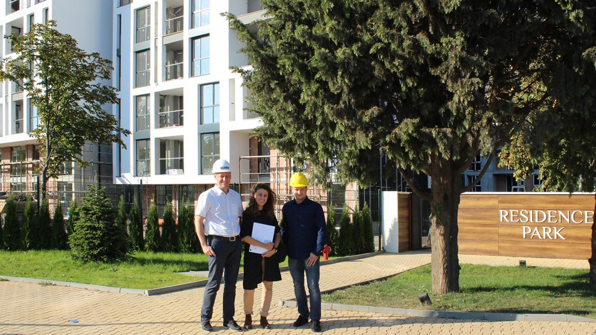Проведе се среща между Атлантис Холдинг и представители от фирма REHAU за България