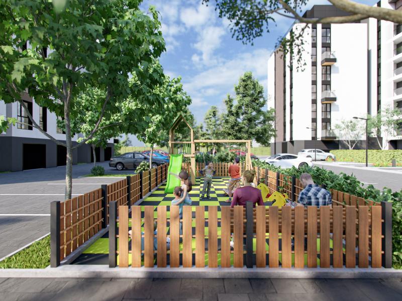 Продължението на Atlantis / Aria - Нов фитнес на открито, детска площадка и зони за отдих