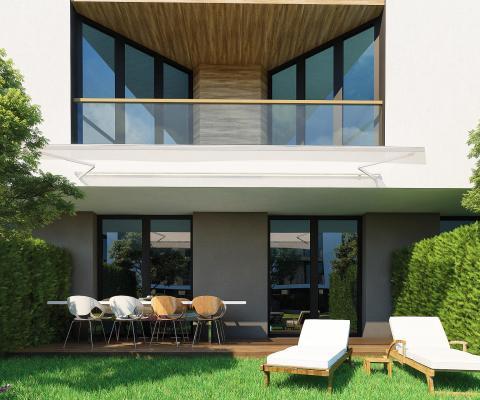 Снимка на апартамент от Атлантис Atmosphere със собствен двор.