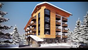 Apart hotel in resort Pamporovo
