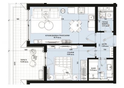 Atlantis/ Aria Апартамент